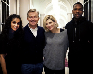 Meet the new TARDIS crew (Credit: BBC)