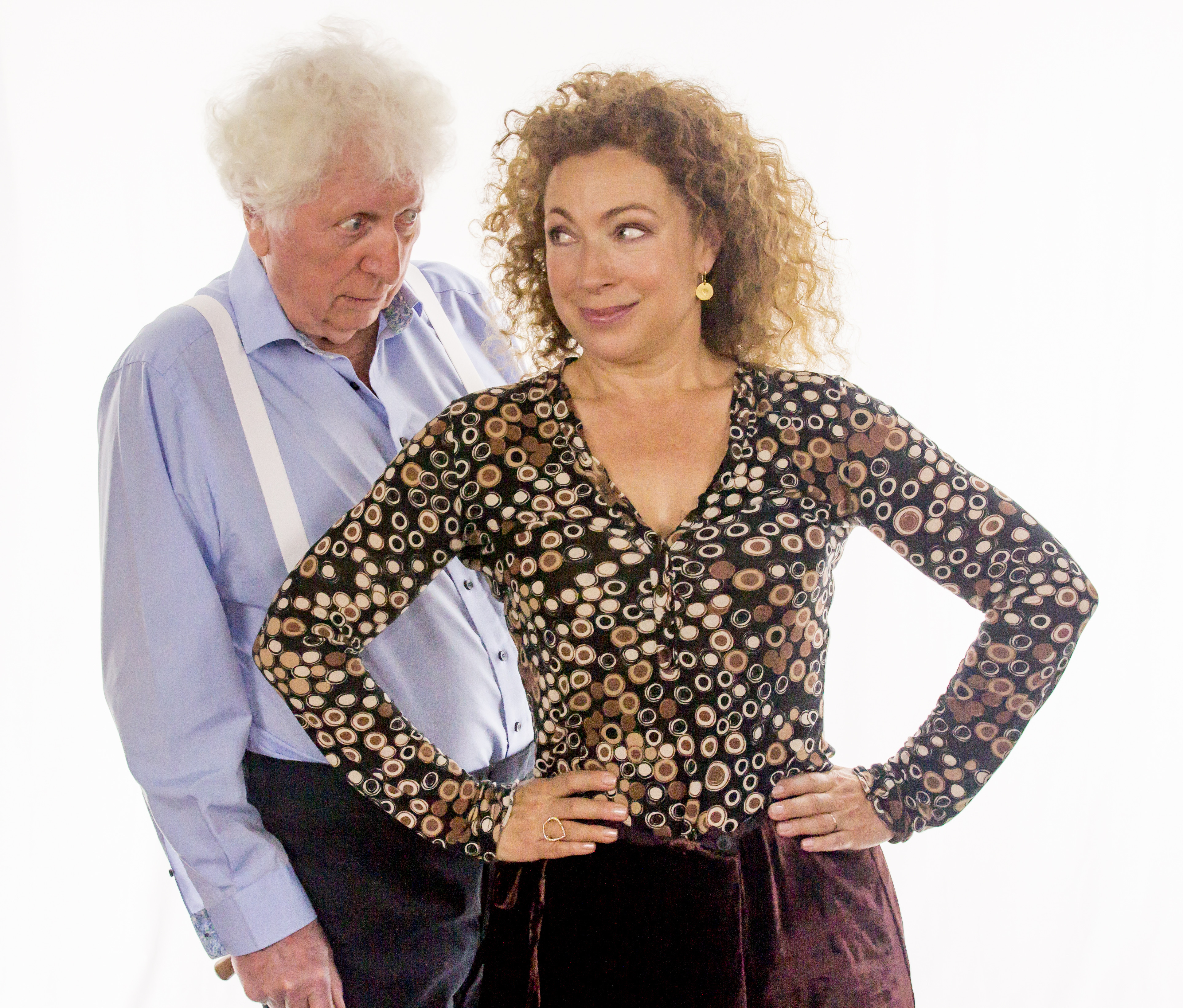 Tom Baker & Alex Kingston (Credit: Big Finish)