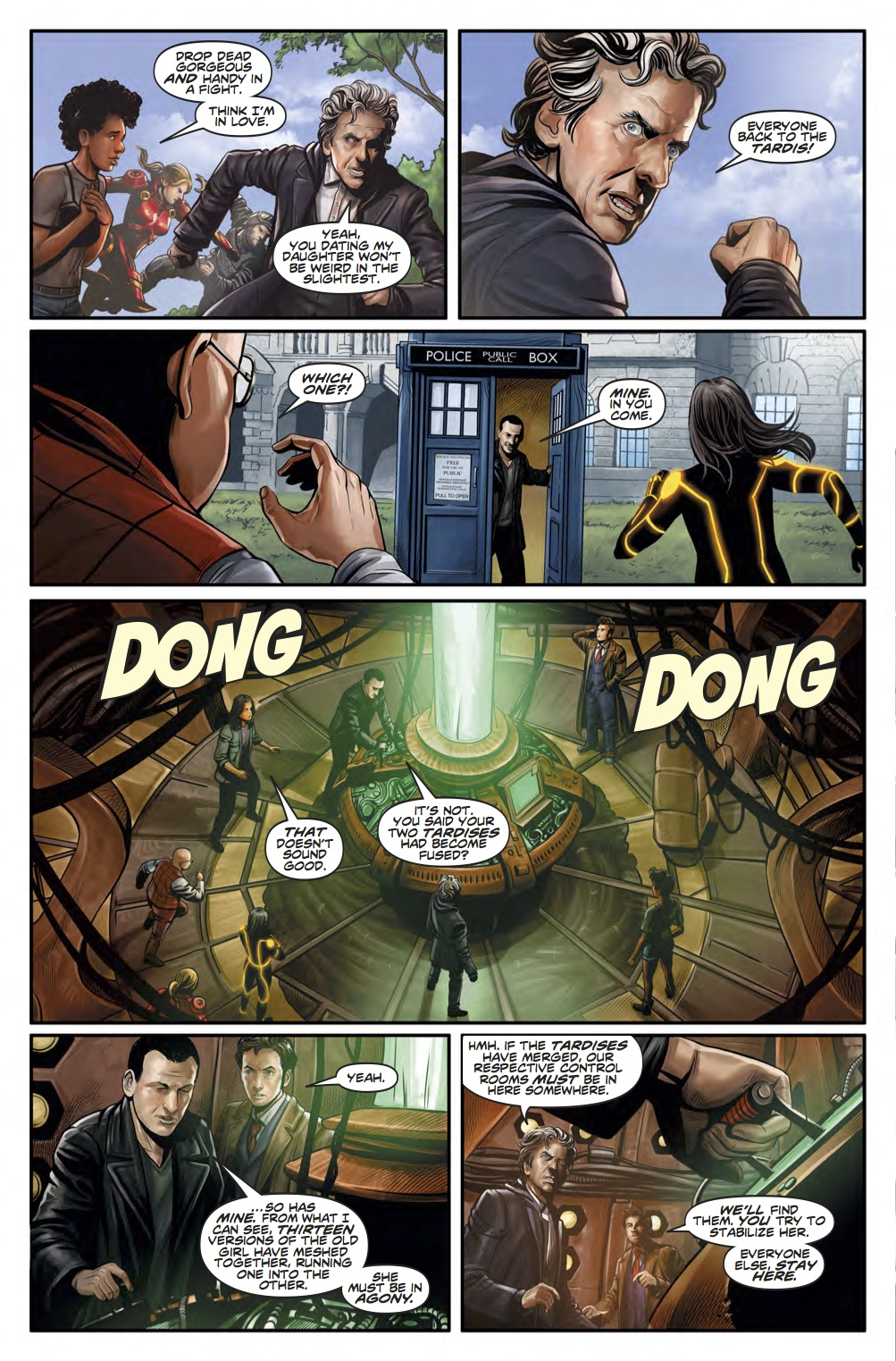 Doctor Who News - Page 4 (Credit: Titan )