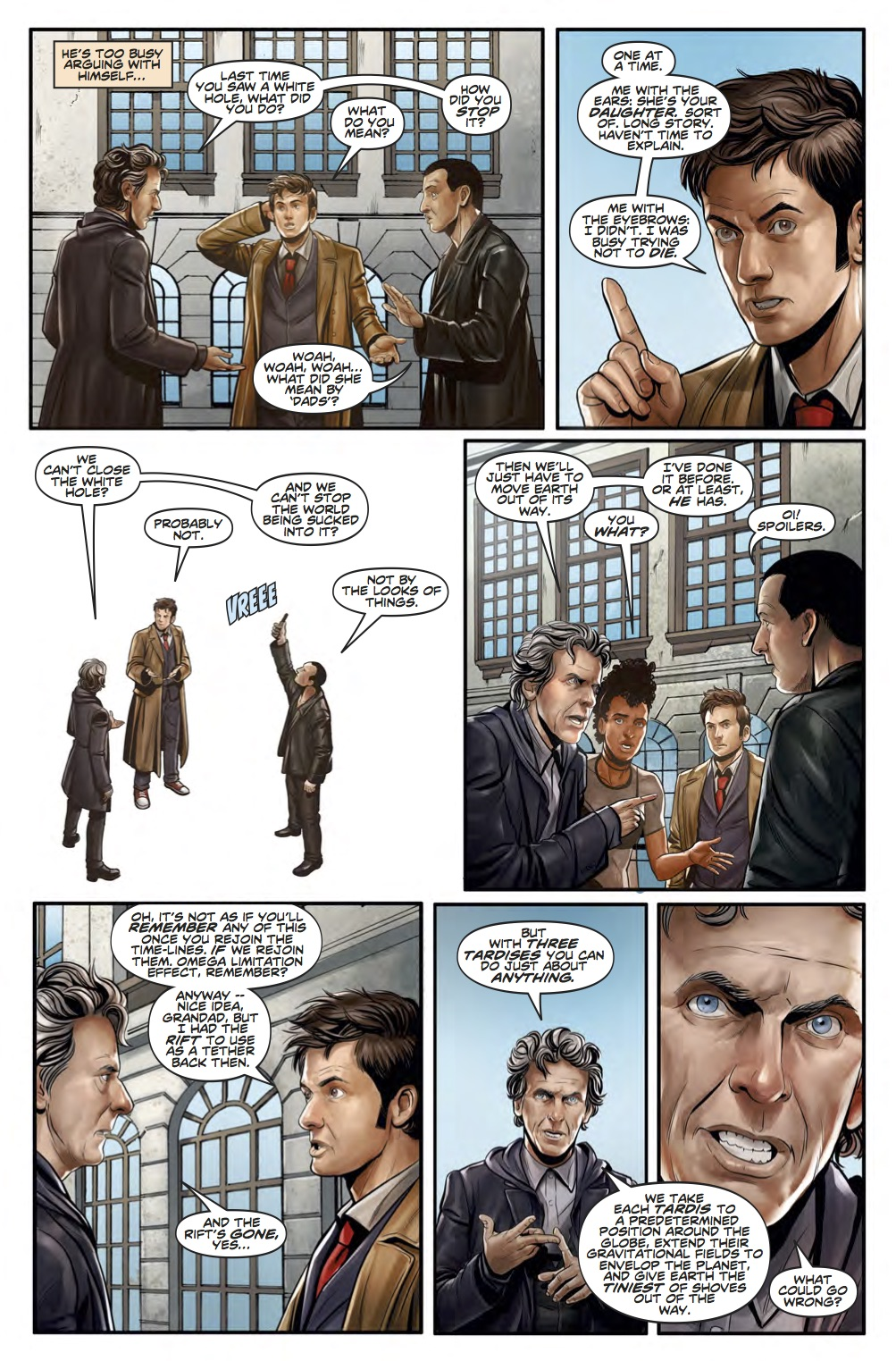 Doctor Who News - Page 2 (Credit: Titan )