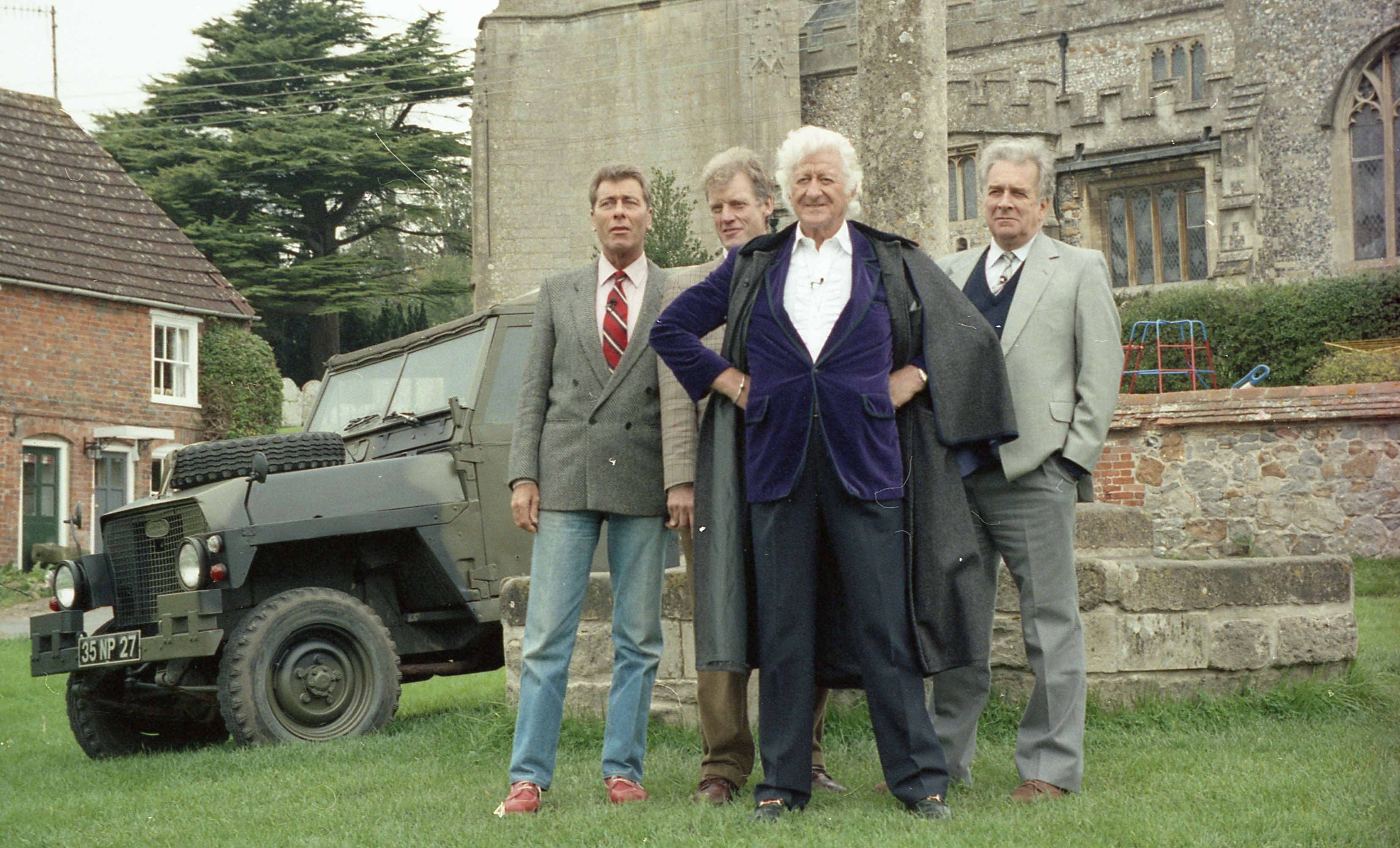 The Cast of The Daemons at Aldbourne (Credit: Koch Media)