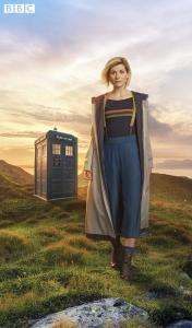 Jodie Whittaker as The Doctor (Credit: BBC/Steve Schofield)