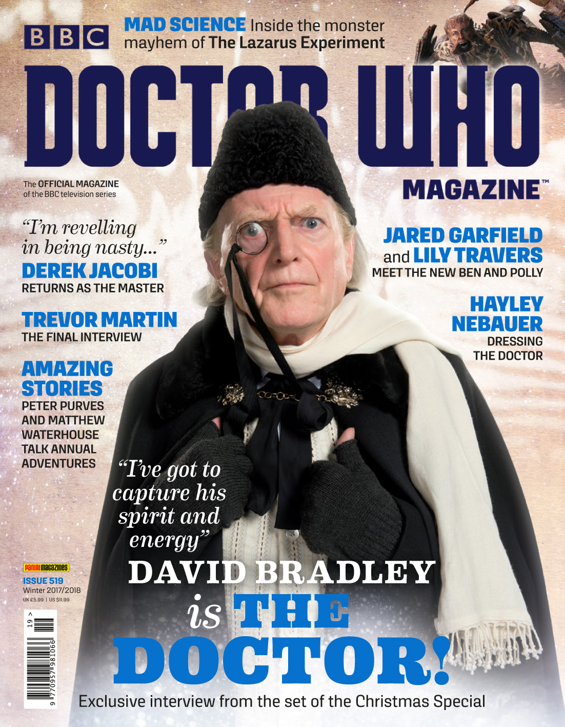 Doctor Who Magazine - 519 (Credit: Panini)