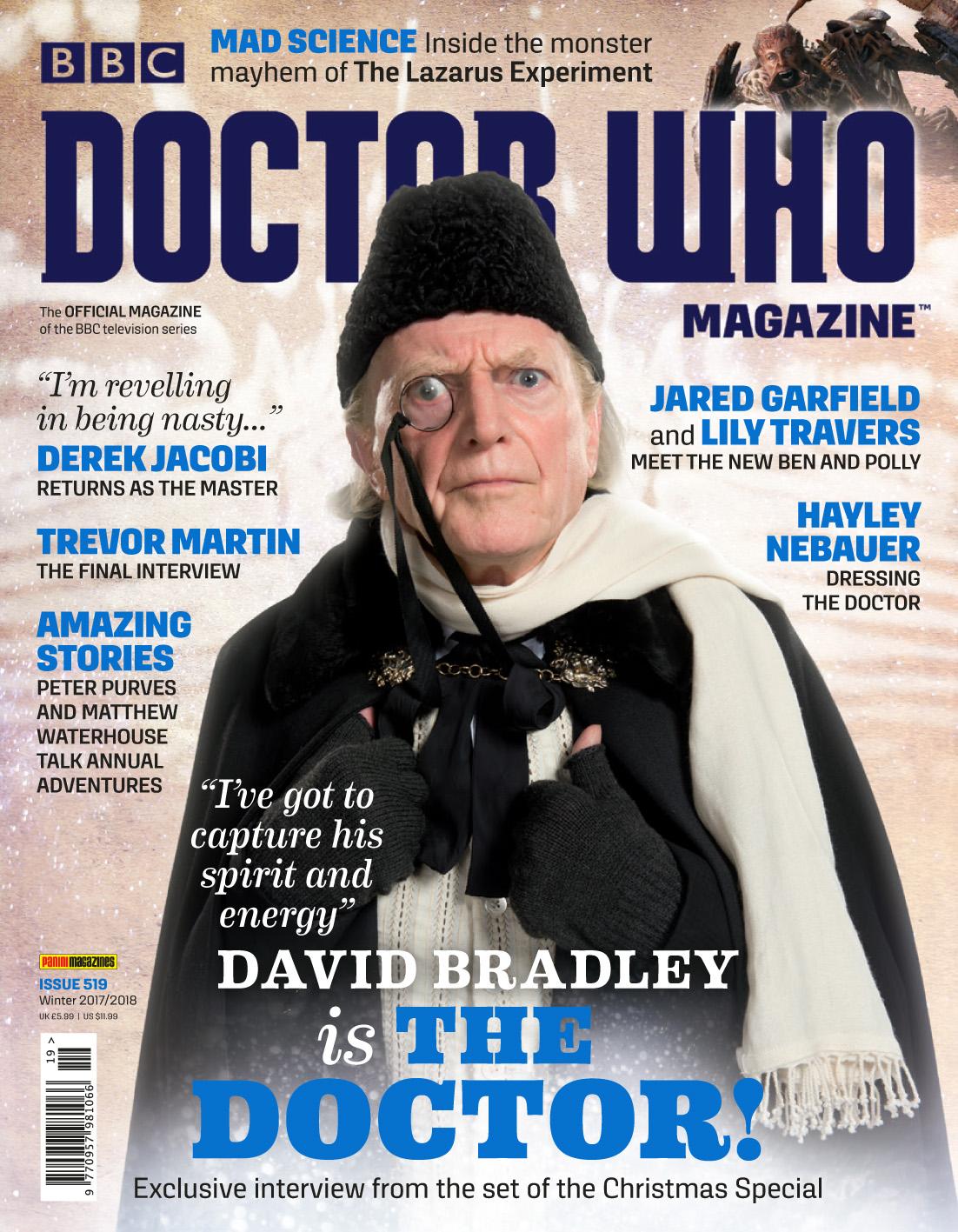 Doctor Who Magazine - 519 (Credit: Panini)