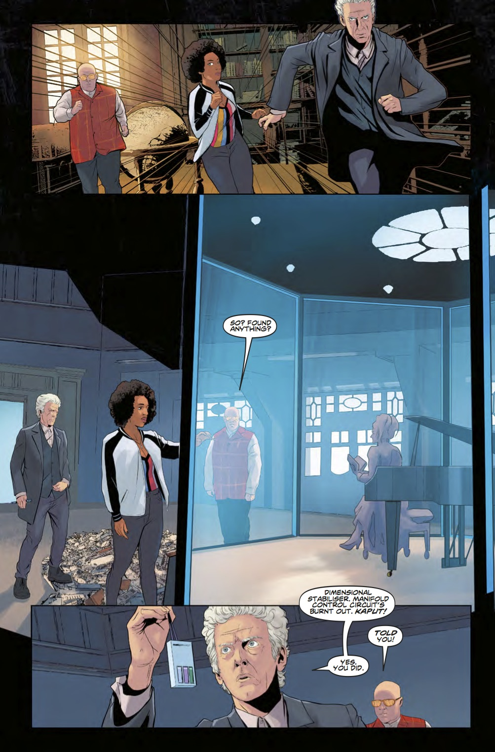 Doctor Who News - Page 3 (Credit: Titan )
