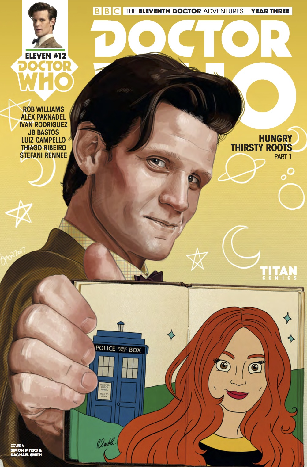 Doctor Who News - Cover A (Credit: Titan )
