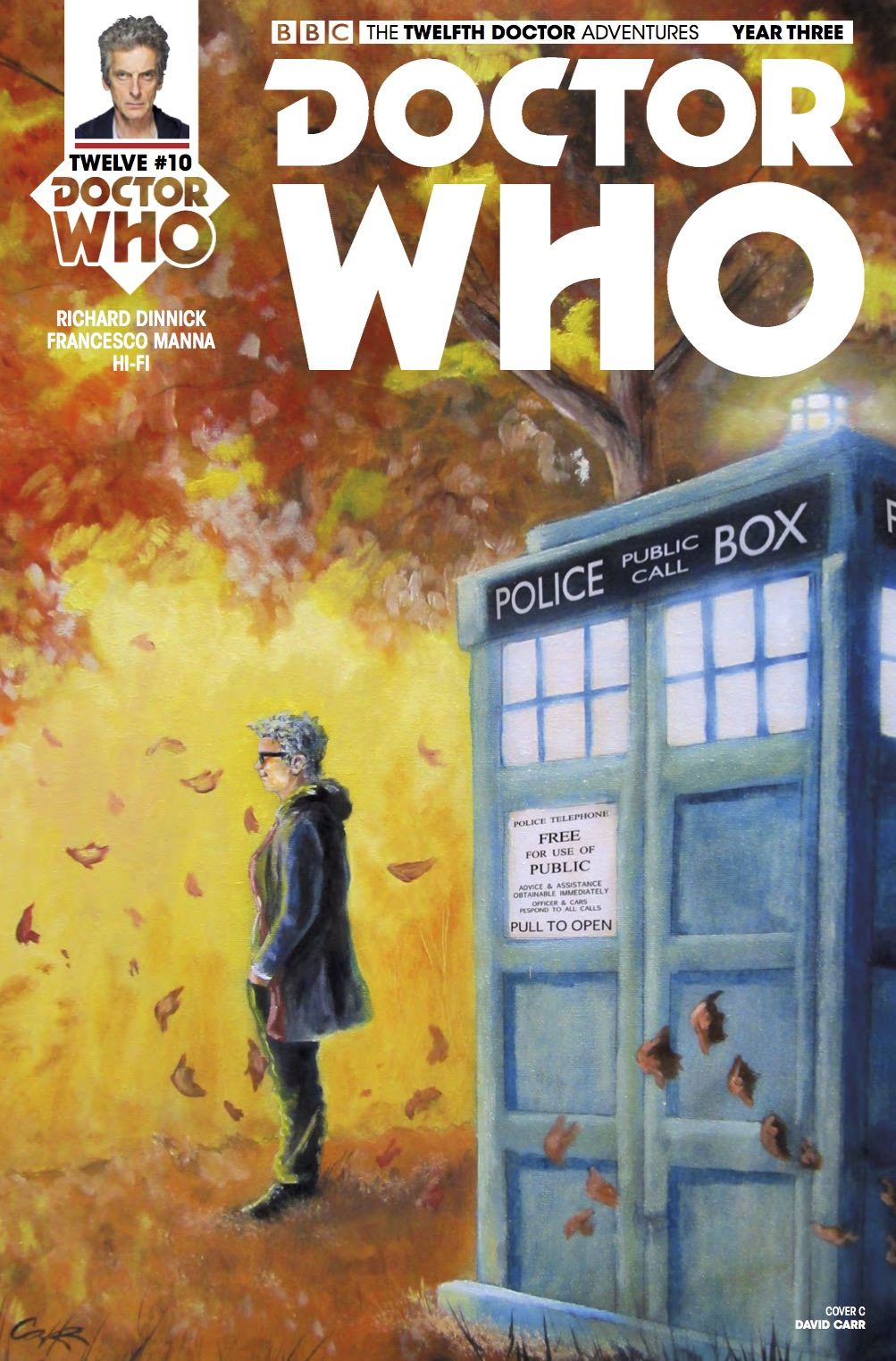 Twelfth Doctor Year Three #10 - Cover C (Credit: Titan )