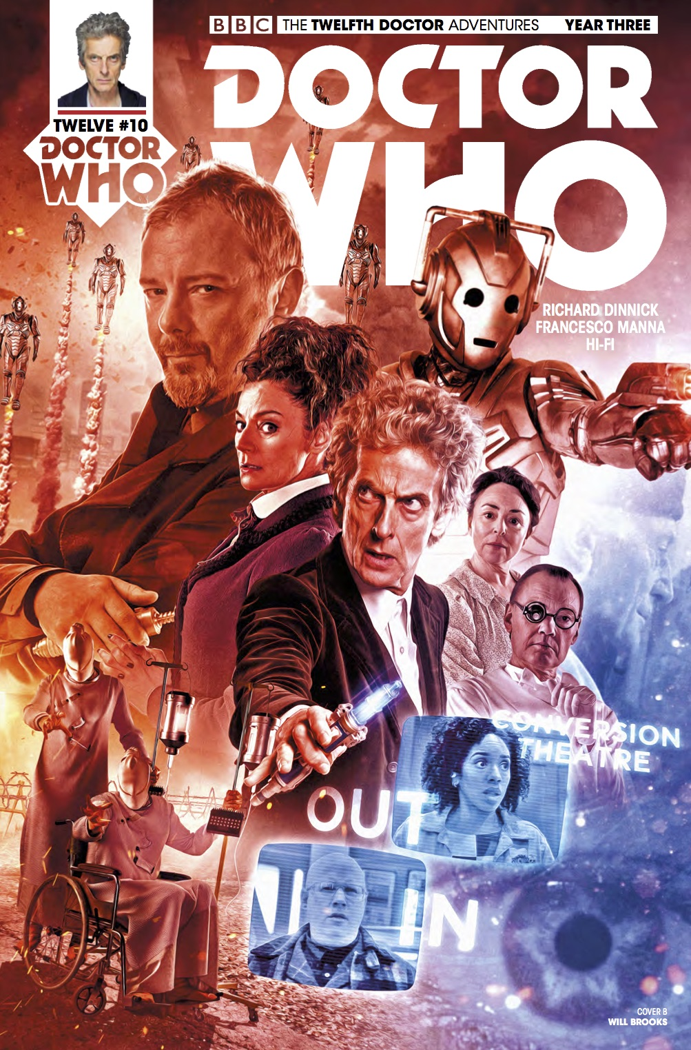 Twelfth Doctor Year Three #10 - Cover B (Credit: Titan )