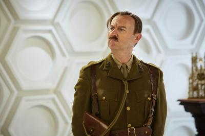 Twice Upon a Time: The Captain (Mark Gatiss) (Credit: BBC/BBC Worldwide (Simon Ridgway))