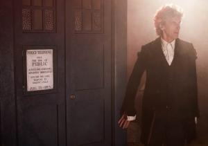 Twice Upon a Time: The Doctor (Peter Capaldi) (Credit: BBC/BBC Worldwide (Simon Ridgway))