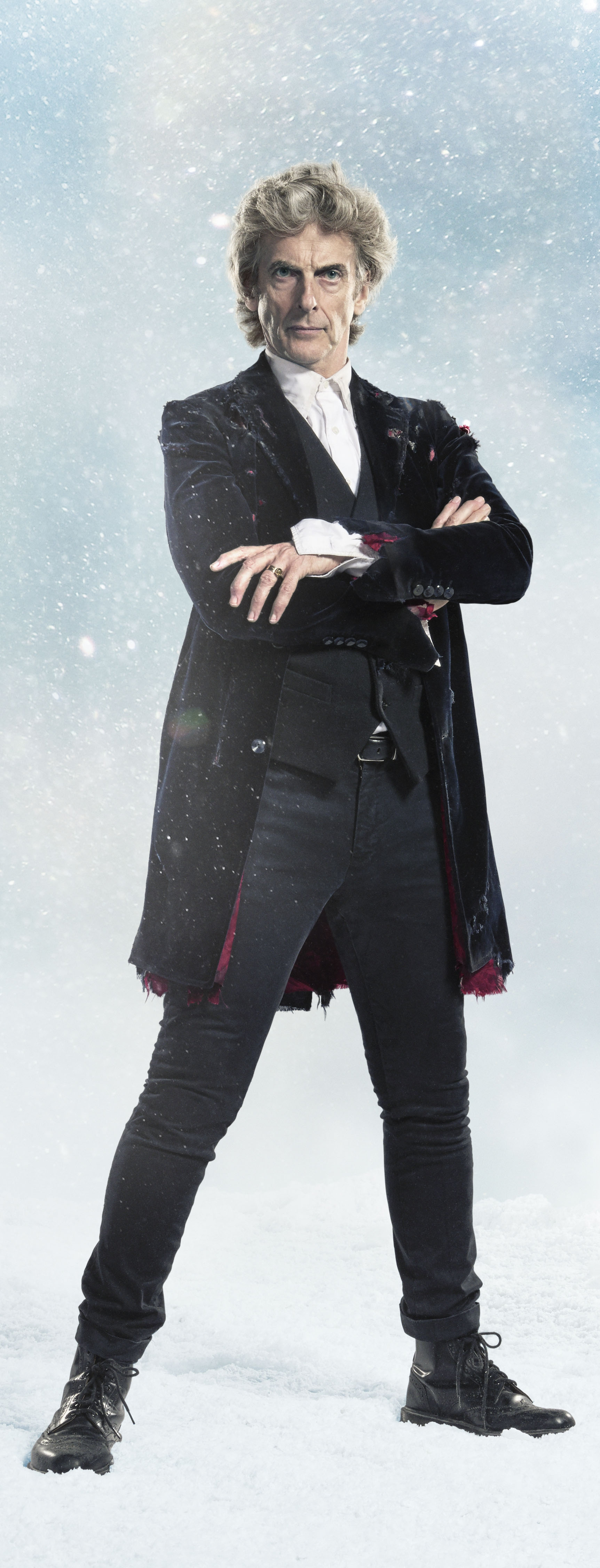 Peter Capaldi as the Doctor, Twice Upon A Time (Credit: BBC)