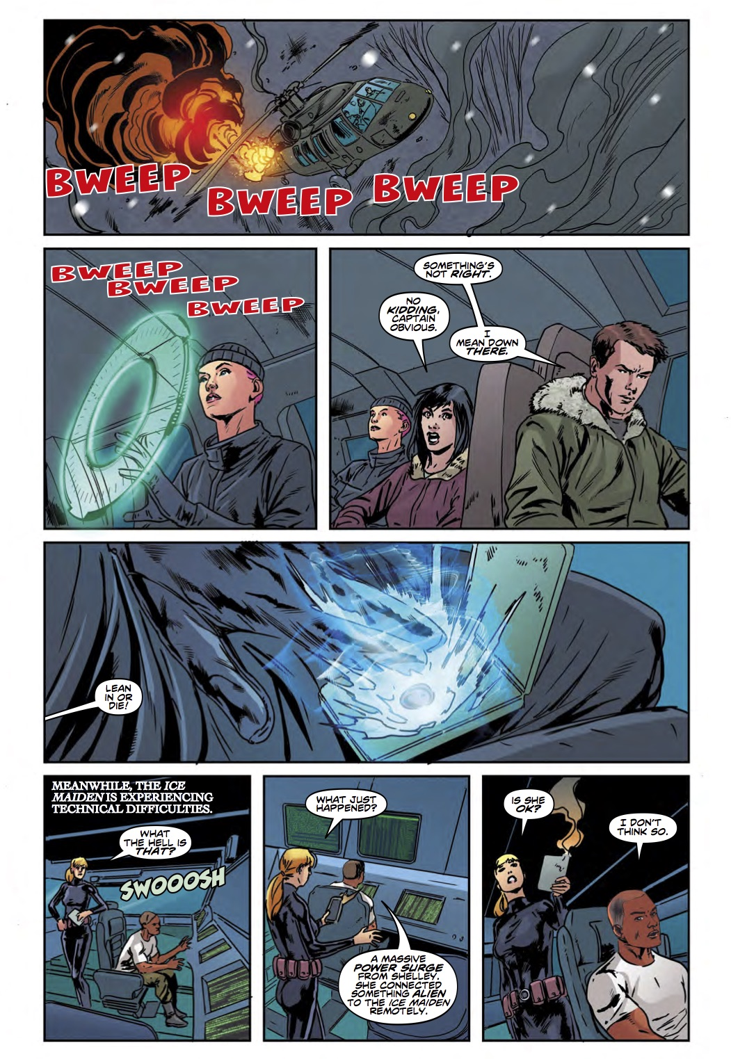 Torchwood #3 - Page 1 (Credit: Titan )