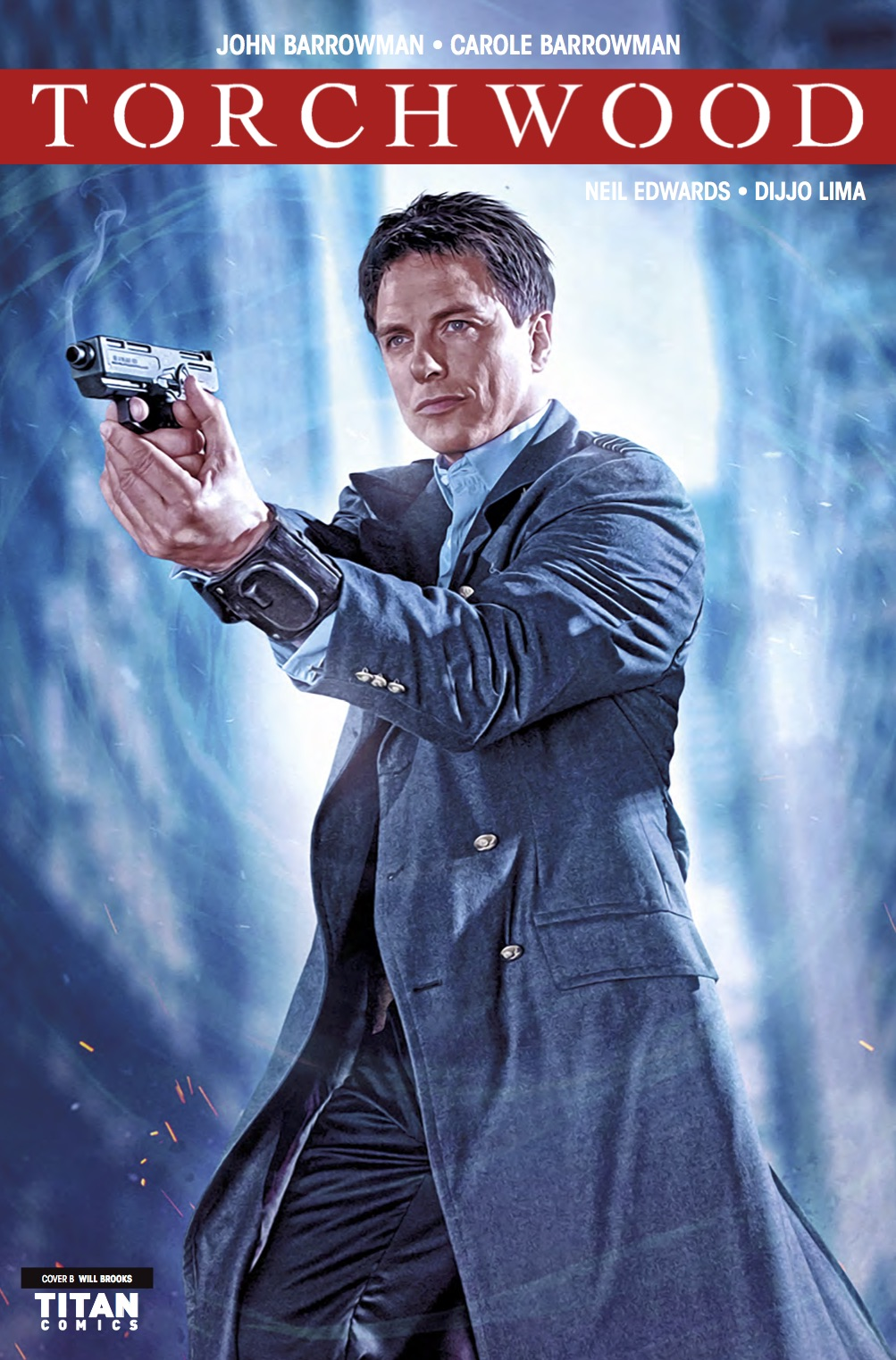 Torchwood #3 - Cover B (Credit: Titan )