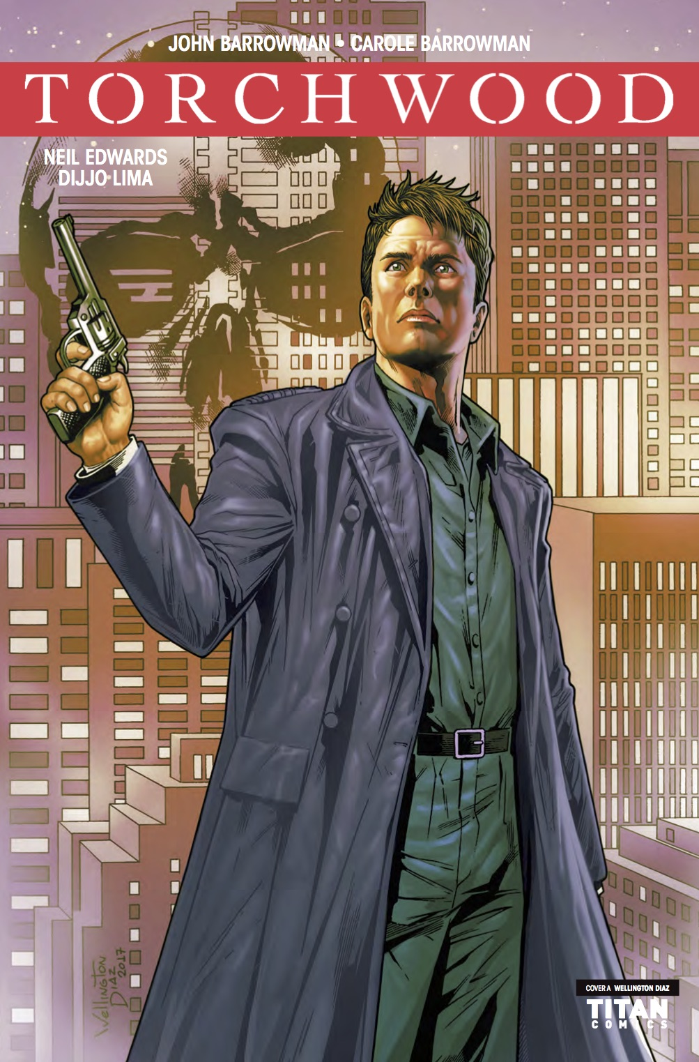 Torchwood #3 - Cover A (Credit: Titan )