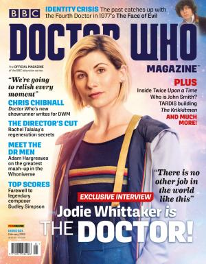 Doctor Who Magazine Issue 521 (Credit: Panini)
