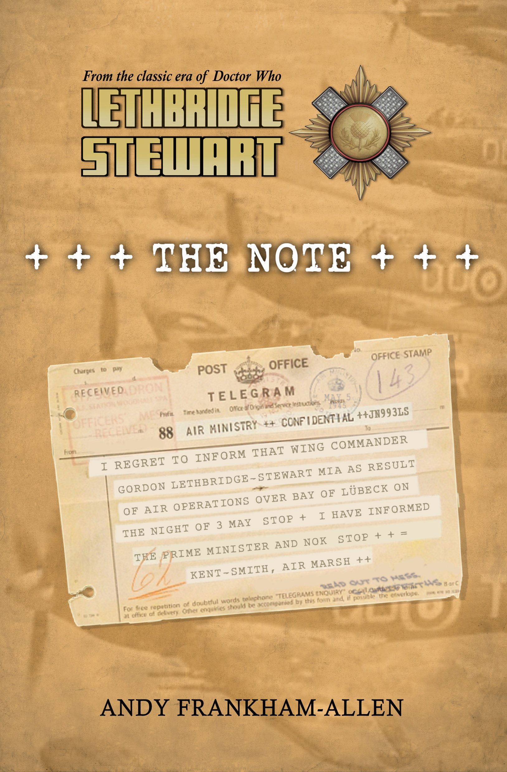 Lethbridge-Stewart: The Note (Credit: Candy Jar Books)