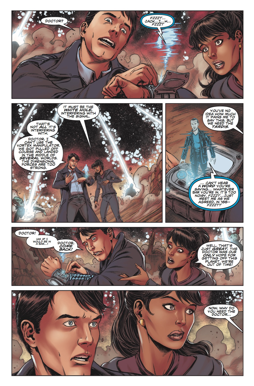 Doctor Who: The Lost Dimension Book One - Page 3 (Credit: Titan )
