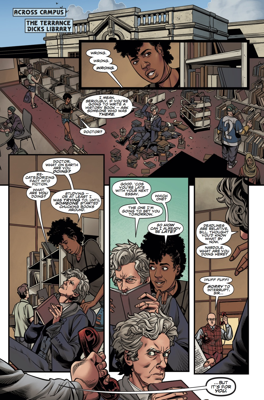 Doctor Who: The Lost Dimension Book One - Page 6 (Credit: Titan )