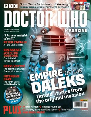 Doctor Who Magazine 522 (Credit: Panini)