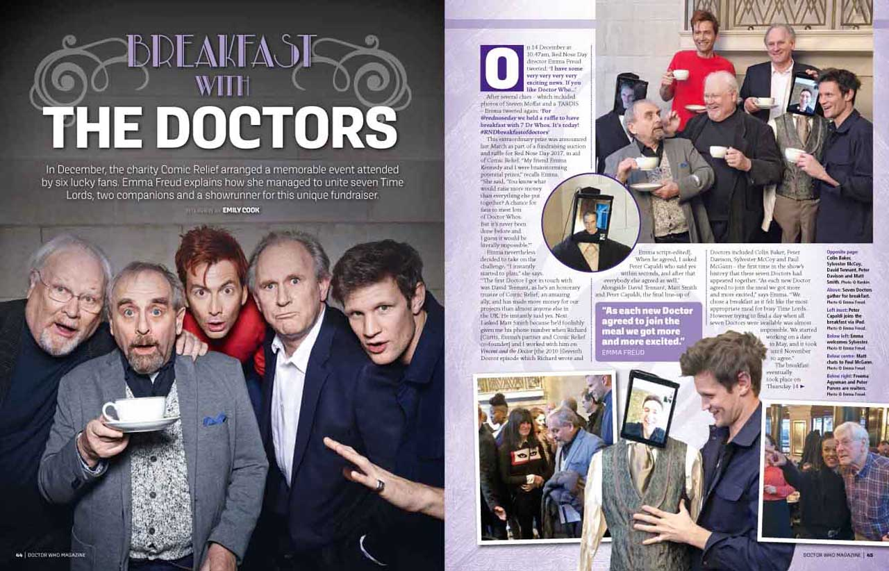 Doctor Who Magazine 522 - sample page 1