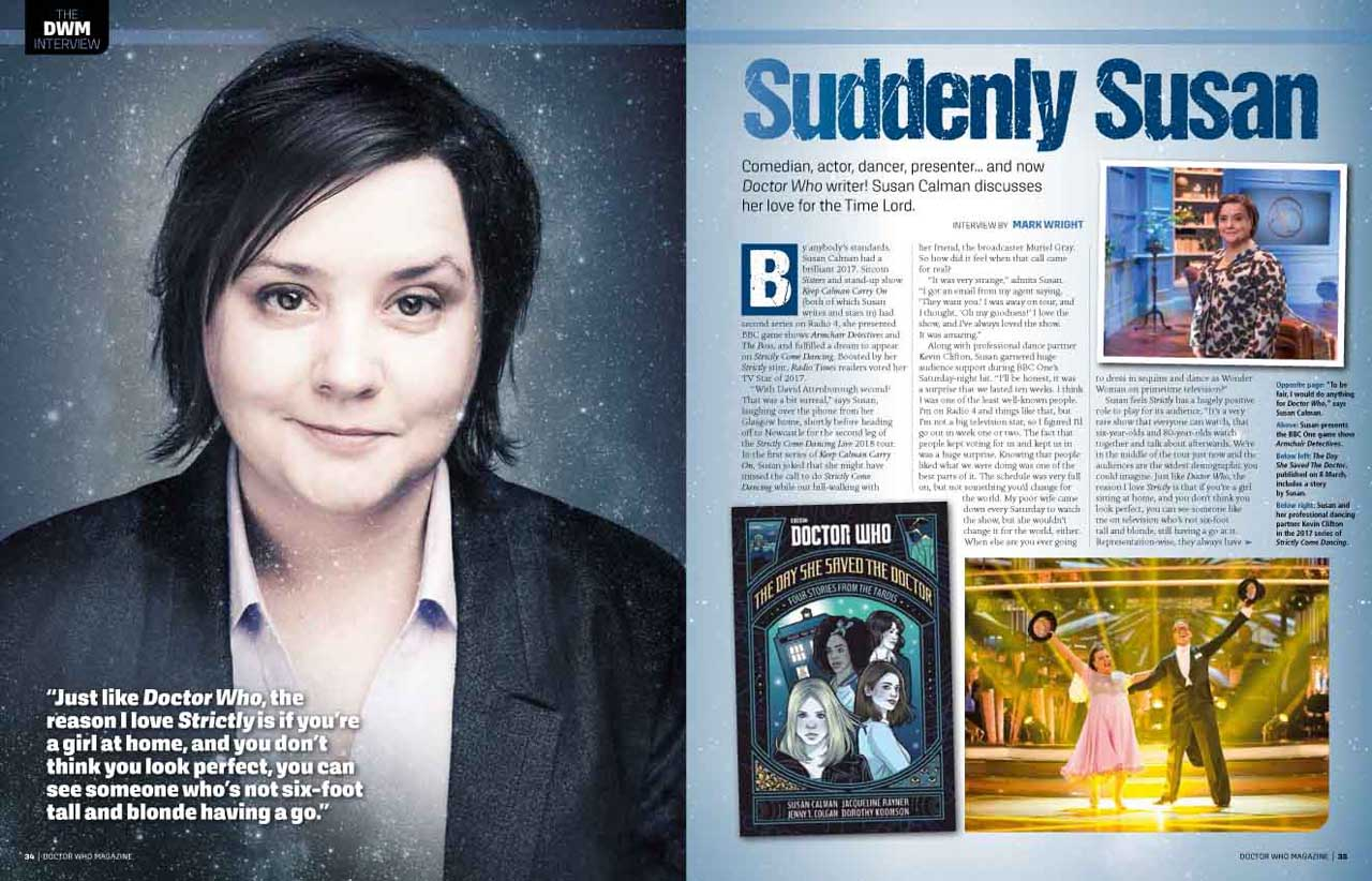 Doctor Who Magazine 522 - sample page 3 (Credit: Panini)