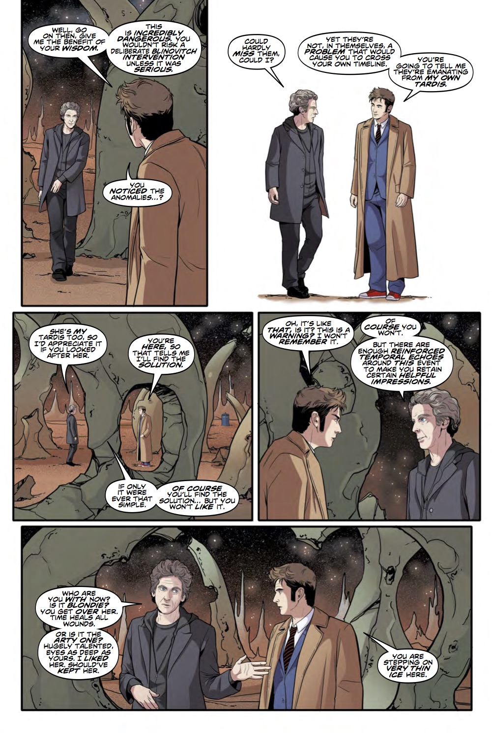 The Tenth Doctor: Facing Fate Volume 2: Vortex Butterflies - Page 7 (Credit: Titan )