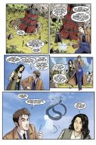The Tenth Doctor: Facing Fate Volume 2: Vortex Butterflies - Page 2 (Credit: Titan )