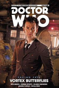 The Tenth Doctor: Facing Fate Volume 2: Vortex Butterflies - Cover (Credit: Titan )