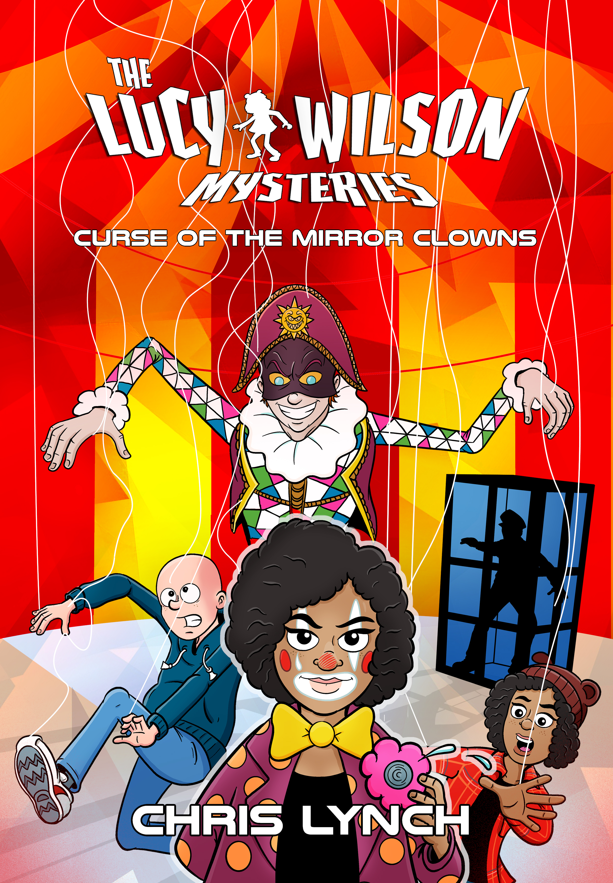 Lucy Wilson Mysteries: Curse Of The Mirror Clowns (Credit: Candy Jar Books)