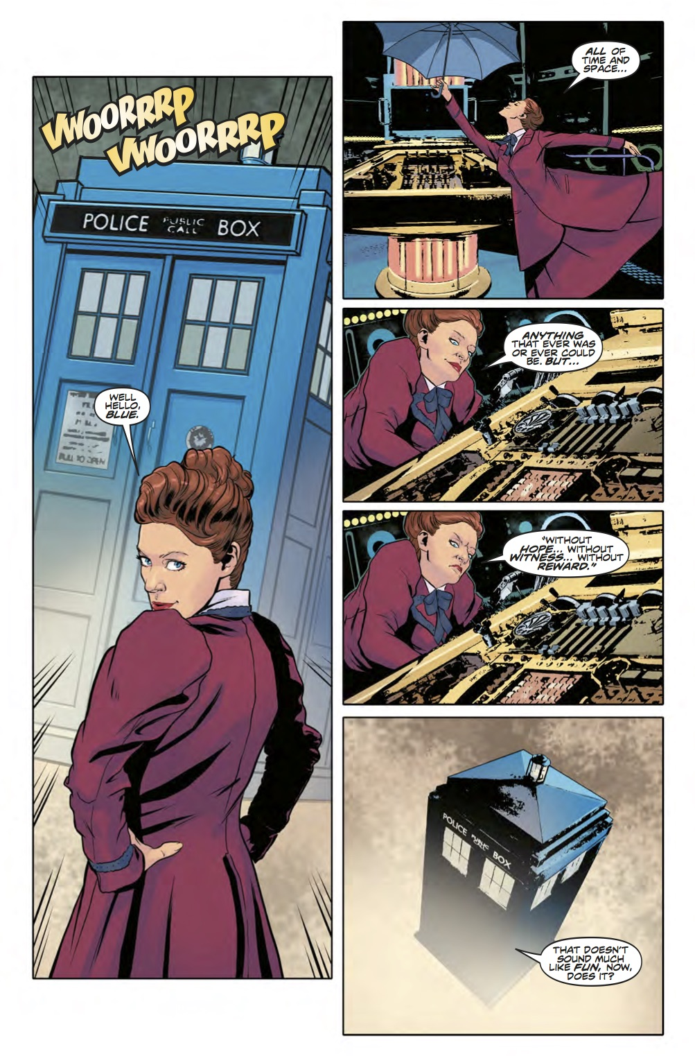 Doctor Who: Twelfth Doctor - Year Three #12 - Page 4 (Credit: Titan )