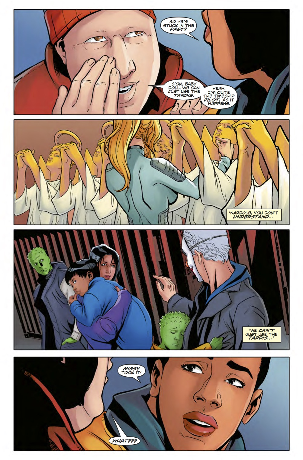 Doctor Who: Twelfth Doctor - Year Three #12 - Page 3 (Credit: Titan )