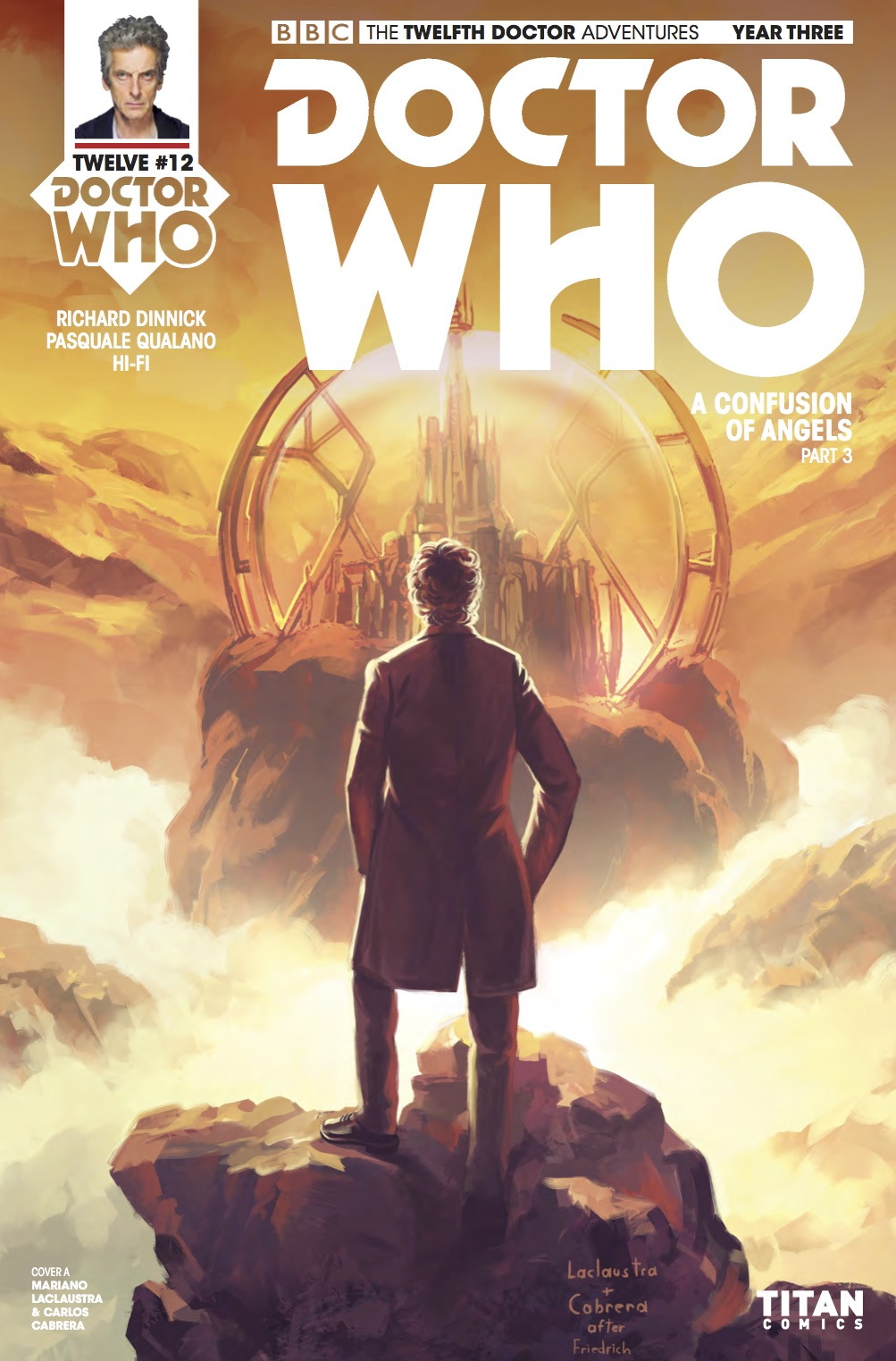 Doctor Who: Twelfth Doctor - Year Three #12 - Cover A (Credit: Titan )