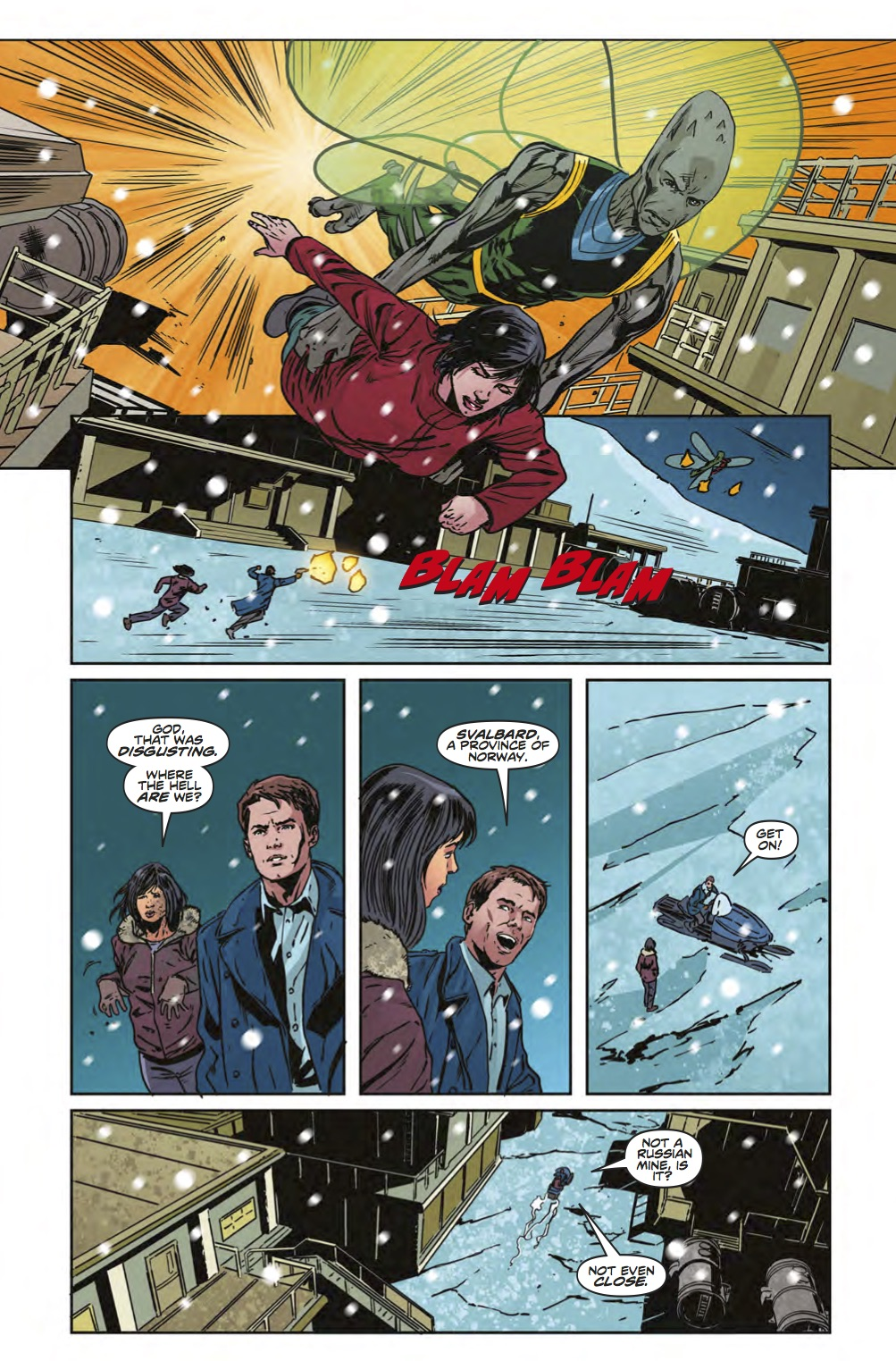 Torchwood The Culling #4 - Page 3 (Credit: Titan )