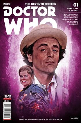 Doctor Who: The Seventh Doctor #1 - Cover B (Credit: Titan )