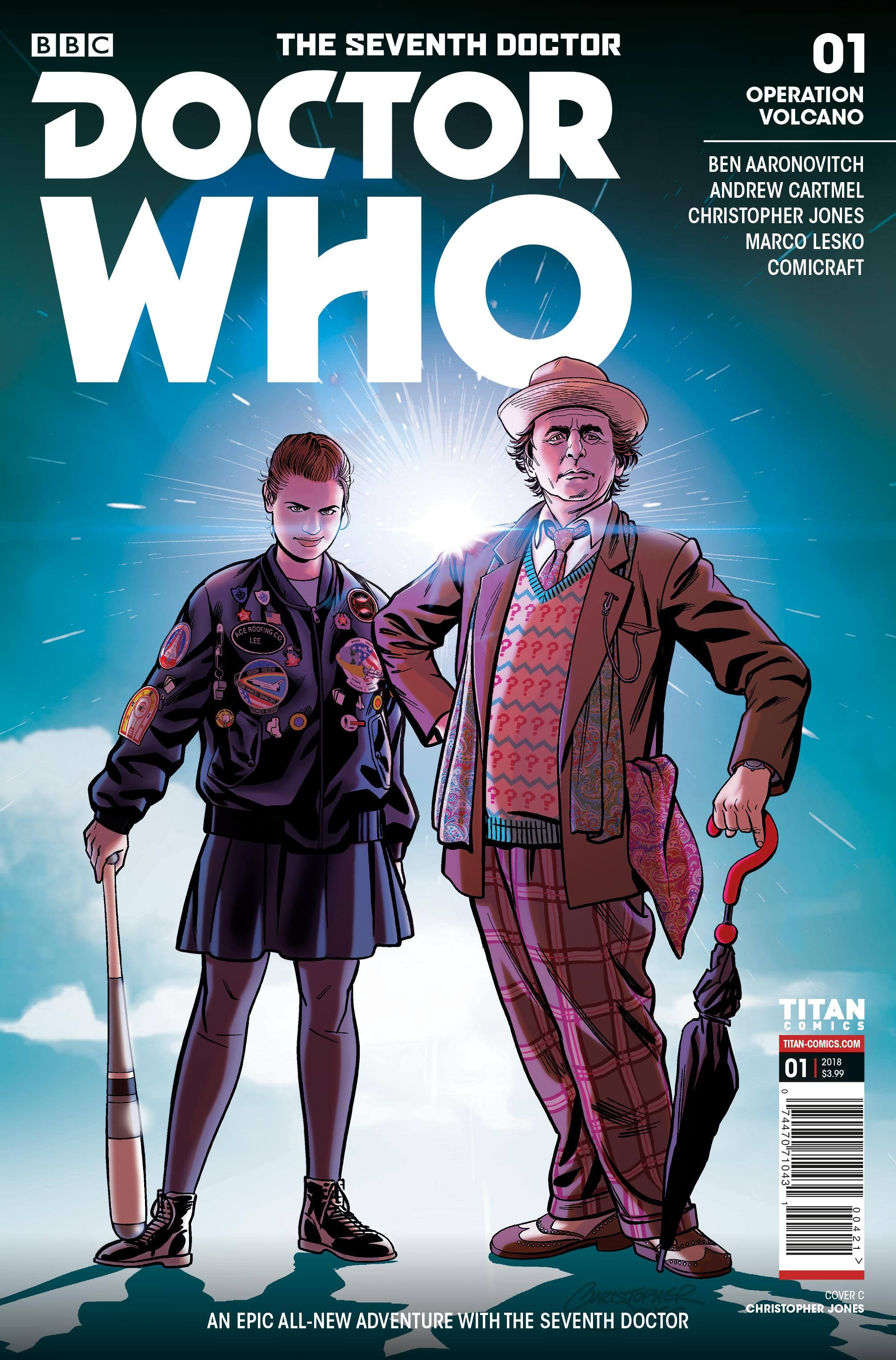 Doctor Who: The Seventh Doctor #1 - Cover C (Credit: Titan )