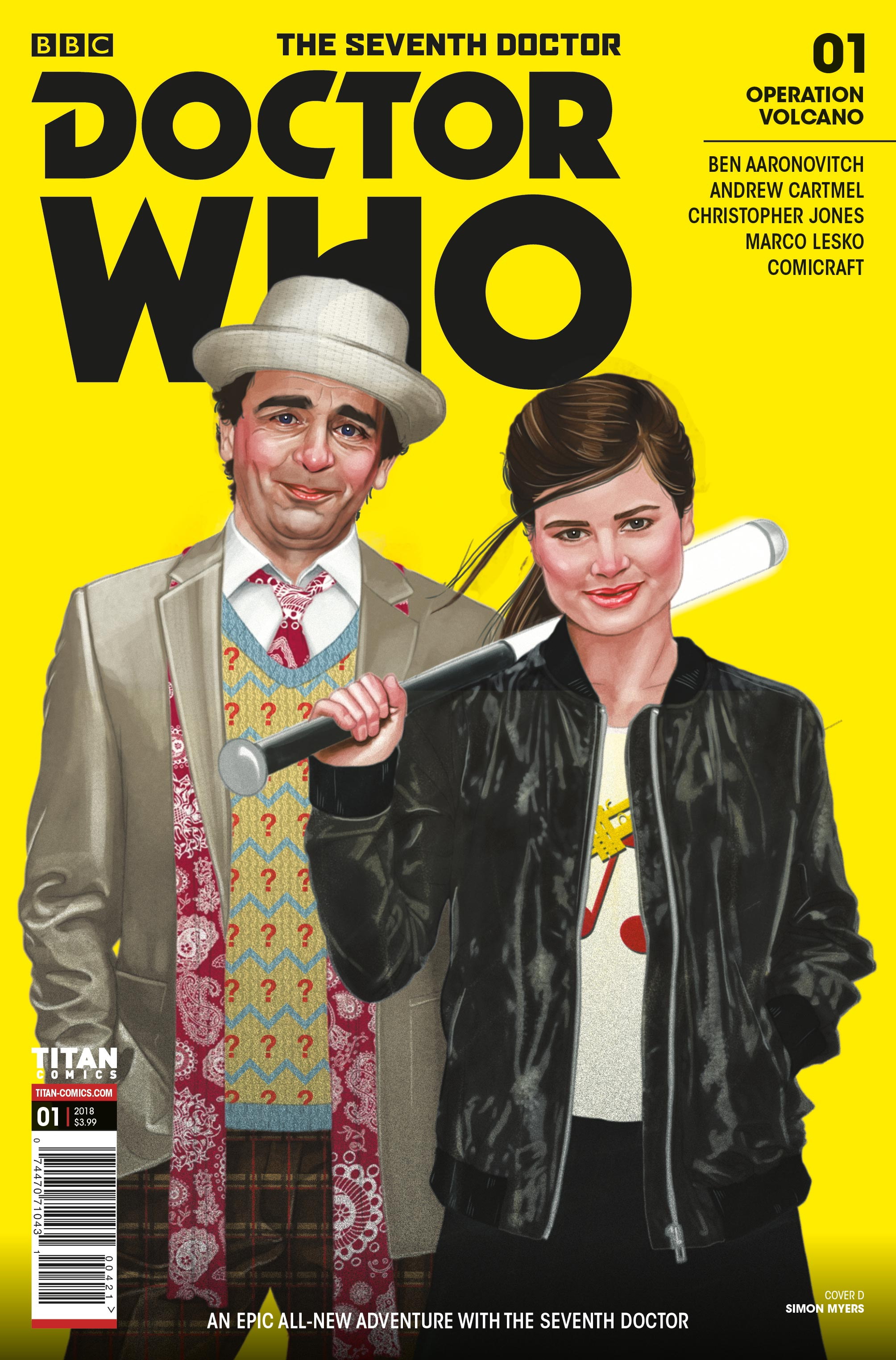 Doctor Who: The Seventh Doctor #1 - Cover D (Credit: Titan )
