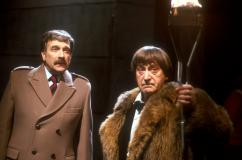 Nicholas Courtney, Patrick Troughton: (Credit:BBC)