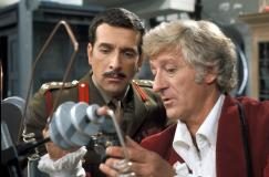 Nicholas Courtney, Jon Pertwee: (Credit:BBC)