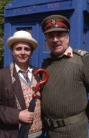 Nicholas Courtney, Sylvester McCoy: (Credit:BBC)