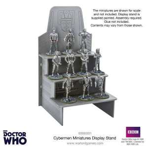 Cyberman Stand (Credit: Warlord Games)