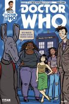 Doctor Who: The Tenth Doctor Year Three #14 - Cover C (Credit: Titan )