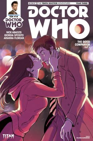 Doctor Who: The Tenth Doctor Year Three #14 - Cover A (Credit: Titan )