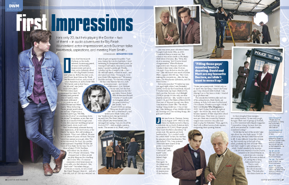 Doctor Who Magazine; Issue 523 (Credit: Panini)