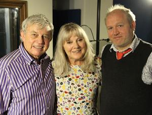 The Monster Era -Anneke Wills, Frazer Hines, Toby Hadoke (Credit: Fantom Publishing)