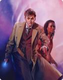 Doctor Who - Series 3 Steelbook - Front Cover (blu-ray) (Credit: BBC Worldwide)