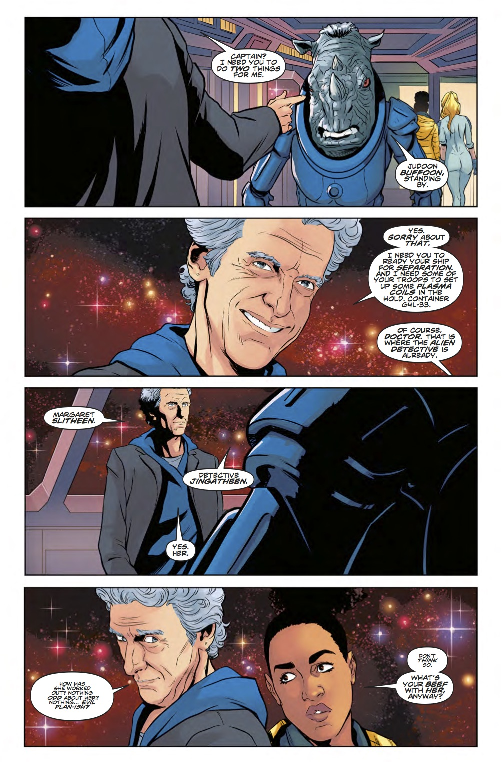 D​octor Who: The Twelfth Doctor Year Three #13 - Page 4 (Credit: Titan )
