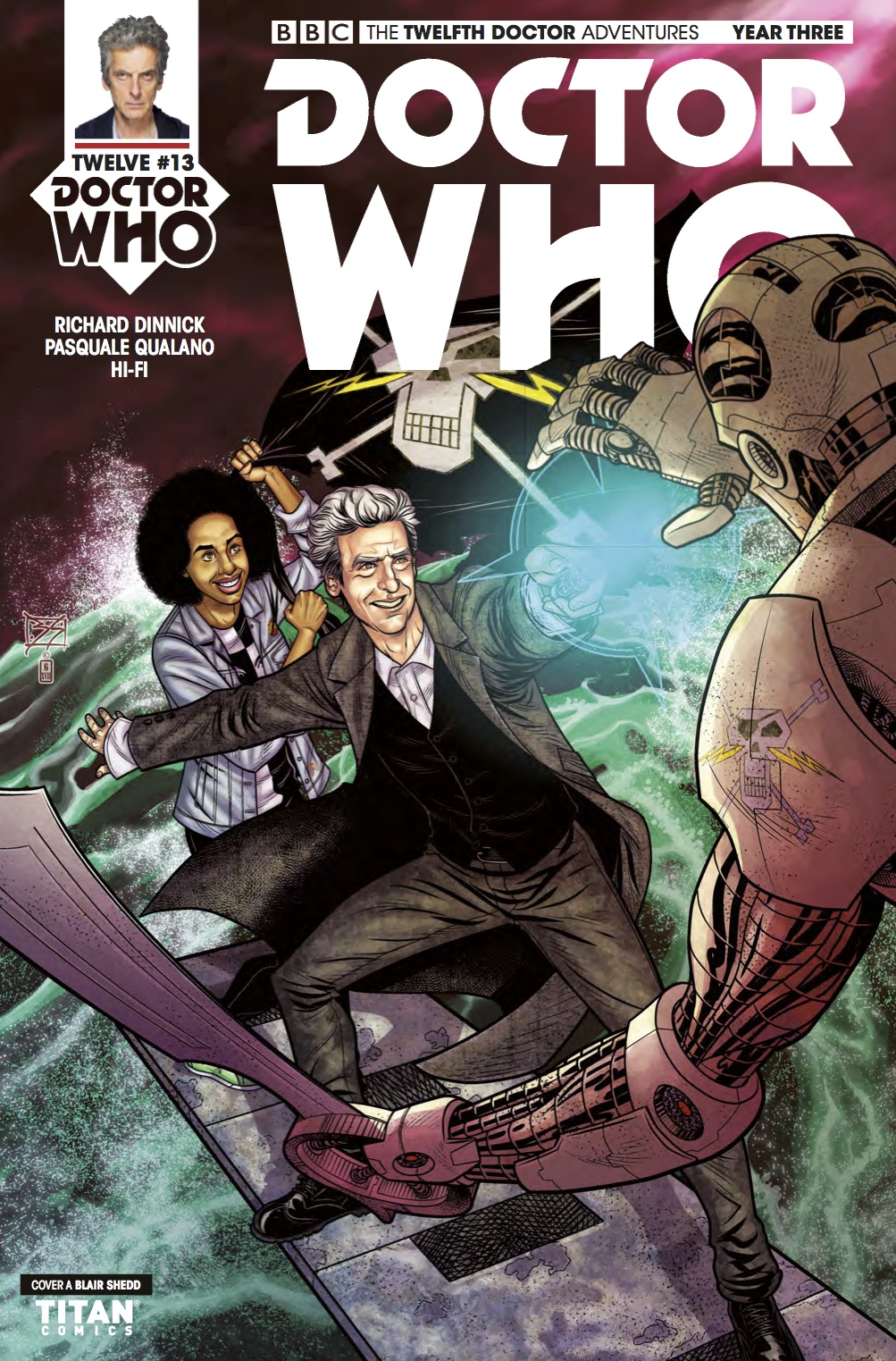 D​octor Who: The Twelfth Doctor Year Three #13 - Cover A (Credit: Titan )