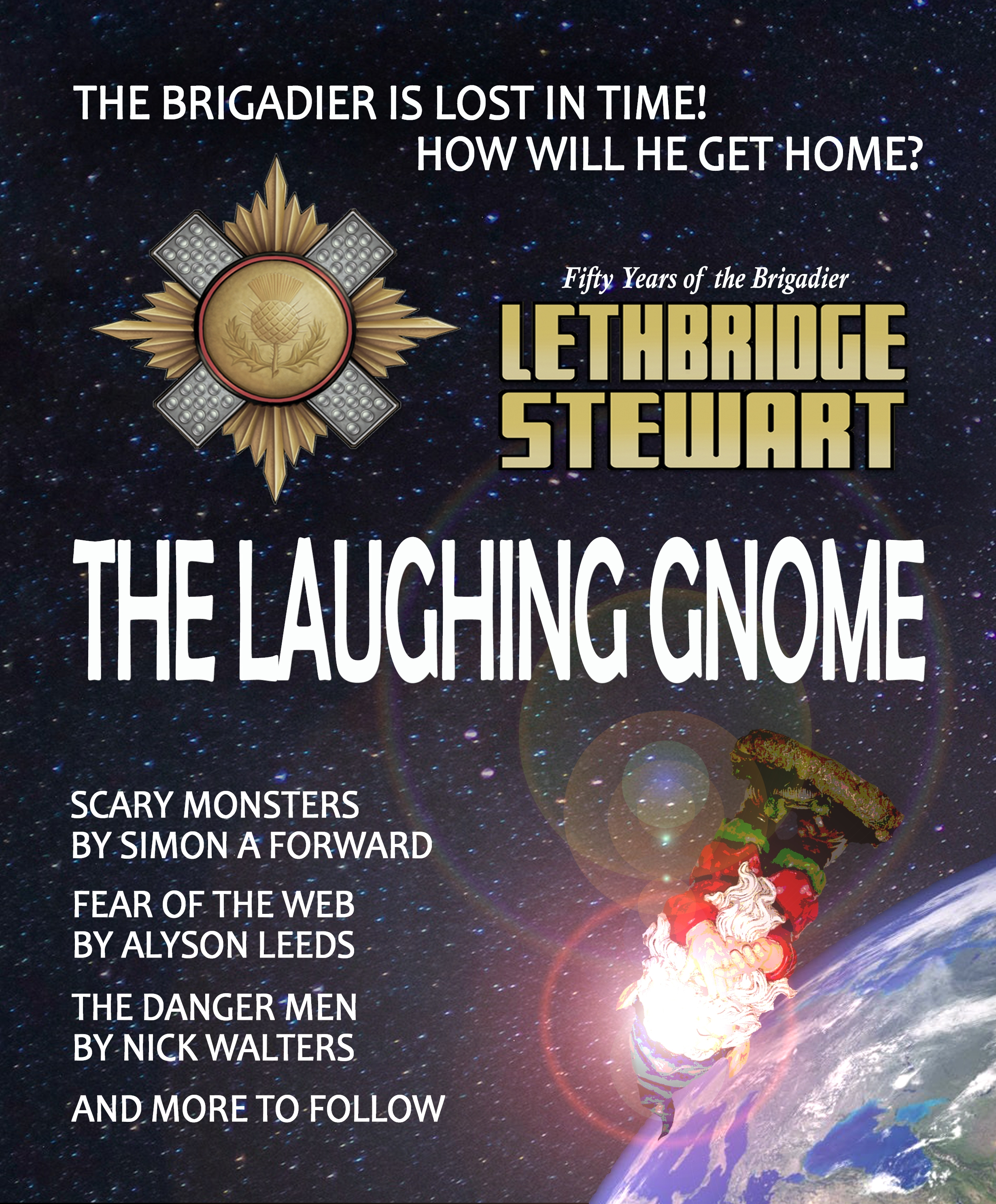 Lethbridge-Stewart: The Laughing Gnome (Credit: Candy Jar Books)