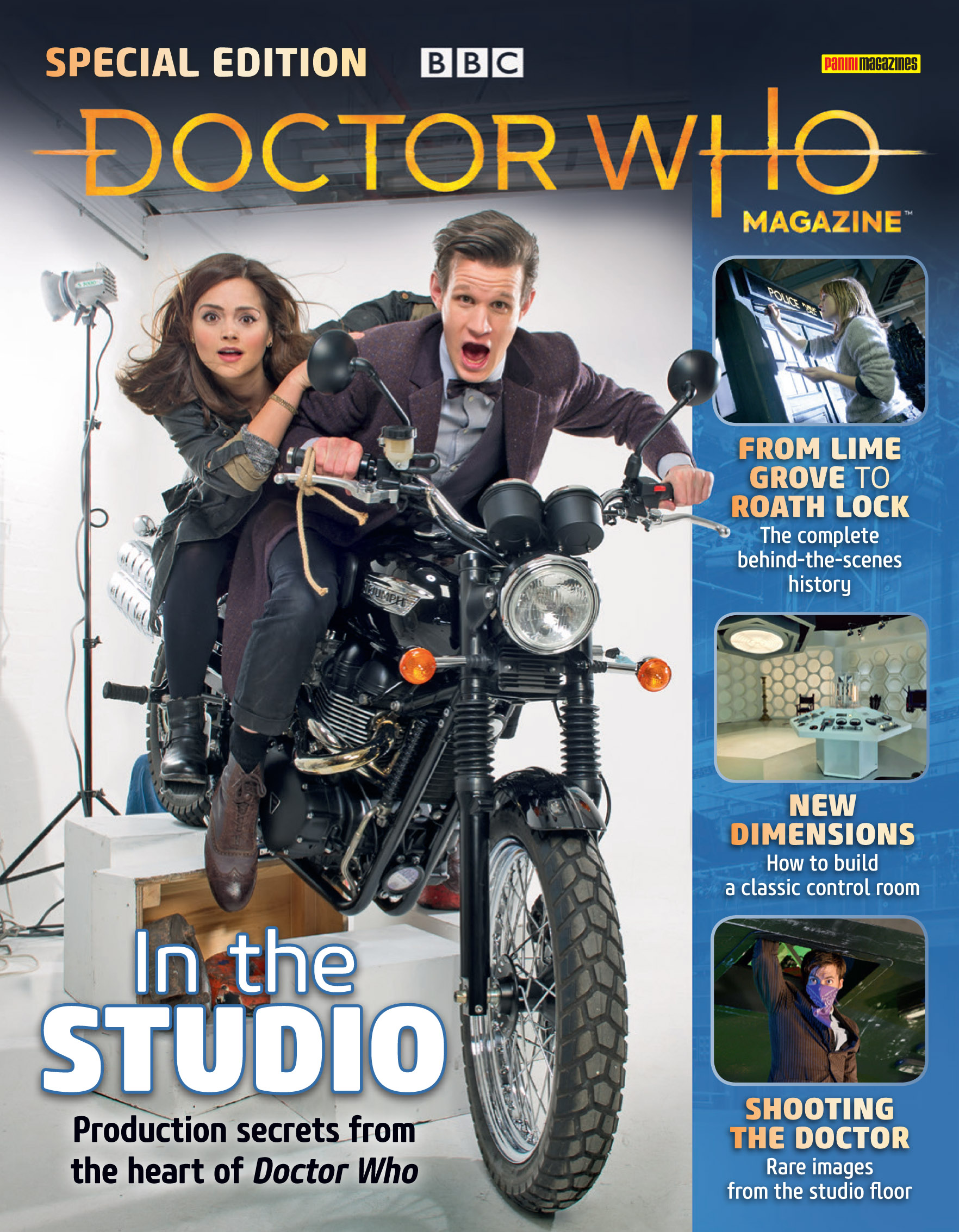 Doctor Who - In the Studio - Cover (Credit: Panini)