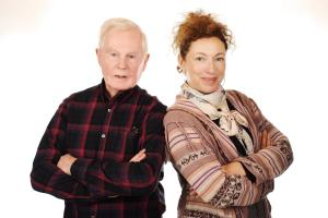 Derek Jacobi and Alex Kingston